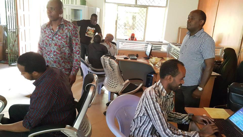 KRA training on iTax at Wajir county