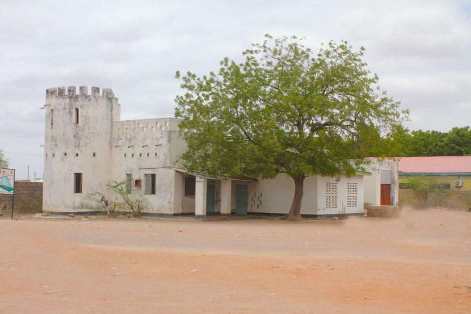 Wajir Old Town - Side View