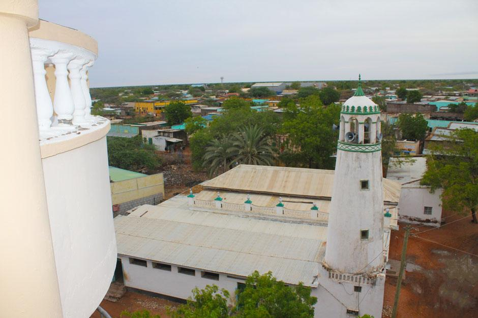Wajir Old Town - Bird's view